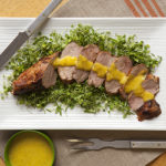 Photo of prepared recipe Mojo-Marinated Pork Tenderloin
