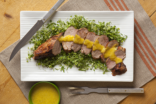 Mojo-Marinated Pork Tenderloin