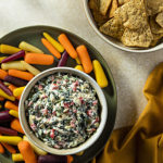 Photo of prepared recipe Spinach + Artichoke Dip