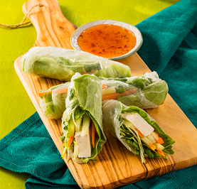 Fresh Vegetable Summer Rolls