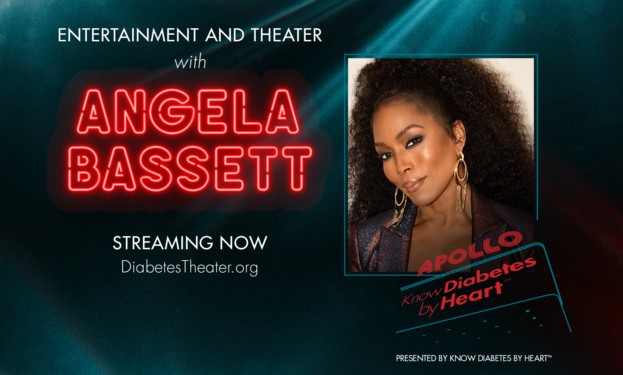 Diabetes Theater Angela Bassett Presented by Know Diabetes by Heart